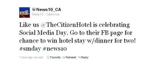 Social-media-day-tweet