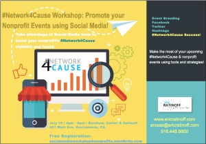 #N4C Social Media Workshop July 2015 Flyer